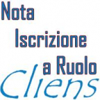 CLIENS NOTA - NOTA ISCRIZIONE A RUOLO ONLINE
