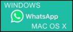 WHATSAPP SU COMPUTER WINDOWS E MAC OS X