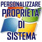 PERSONALIZZARE PROPRIETA' DI SISTEMA DI WINDOWS